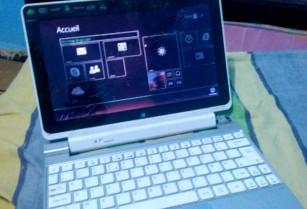 Oupheur et ordinateur portable Acer