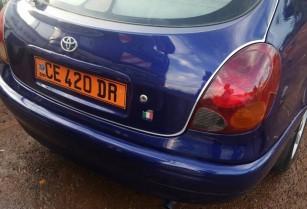voiture Toyota corolla en vente