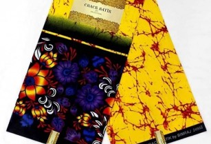 le pagne de collection Crack batik&Liberty