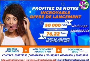 Promotion en creation de site web