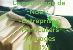 Service de nettoyage général pour entrepises et maisons….