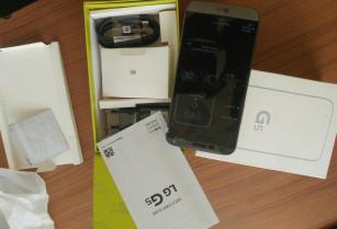 LG G5 NEUF 32GIGA CANADA