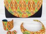 Accessoires en tissus africains