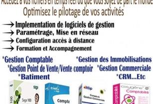 Services informatiques,Audit,Assistance,implementation Logiciel