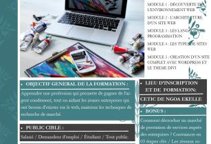 Formation Professionnelle aux métiers du Web et du Digital
