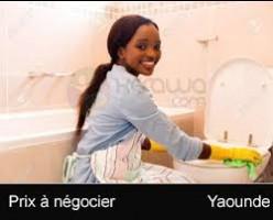 Besoin d'une femme de ménage à MVAN Complexe BEAC
