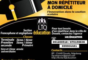 répétition à domicile  Douala tel 691200518 : maths, informatique, physique, SVT…