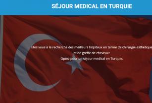 évacuation sanitaire vers la Turquie