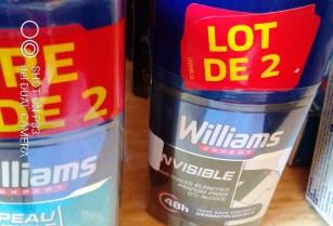 Deodorant et sticks larges