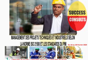 MANAGEMENT DES PROJETS TECHNIQUES ET INDUSTRIELS SELON LA NORME ISO 21500 ET LES STANDARDS DU PMI