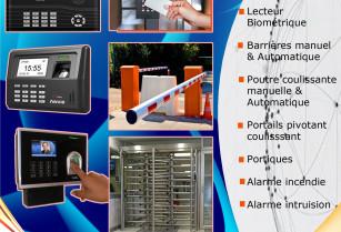 Système biométrique et de contrôle d'accès