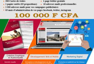 Promotion site internet