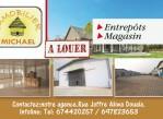 Entrepôts et Magasins 1000m2 a louder a Douala