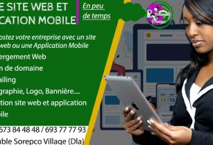 VOTRE APPLICATION MOBLE ET SITE WEB CLE EN MAIN